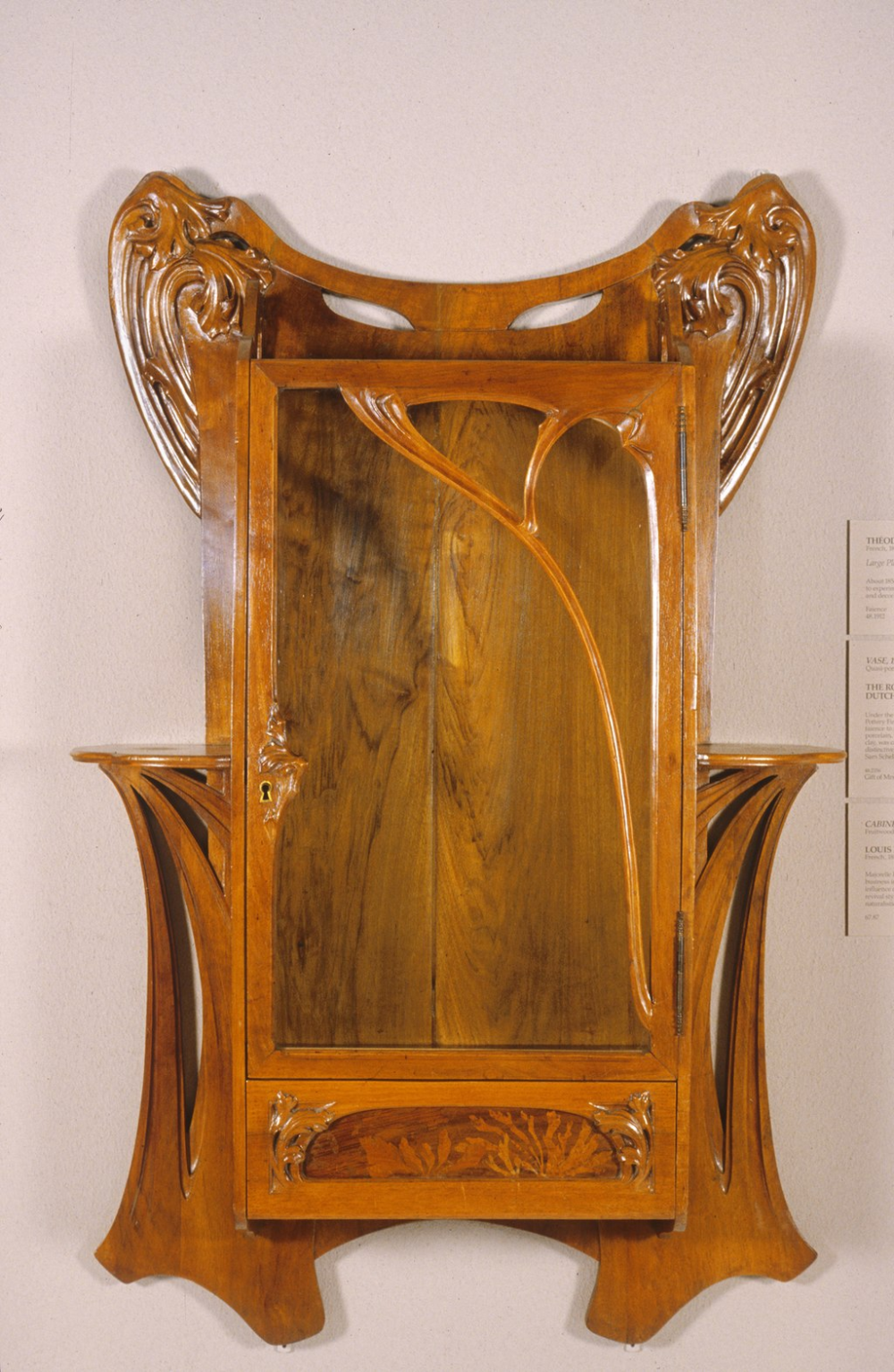 Louis Majorelle Wall Cabinet Walters 6587 Art Nouveau Wikipedia In 2020 Art Nouveau Furniture Art Nouveau Interior Art Nouveau Cabinet
