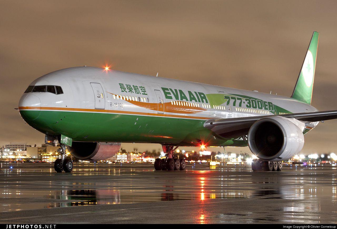 Eva Air, Boeing 777300ER Boeing 777, Passenger aircraft