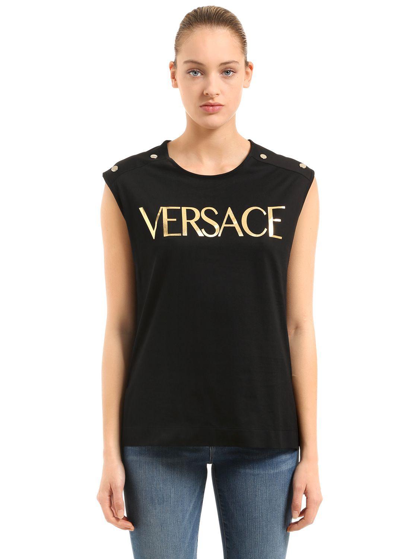c5aac7be6 VERSACE LOGO PRINTED T-SHIRT.  versace  cloth