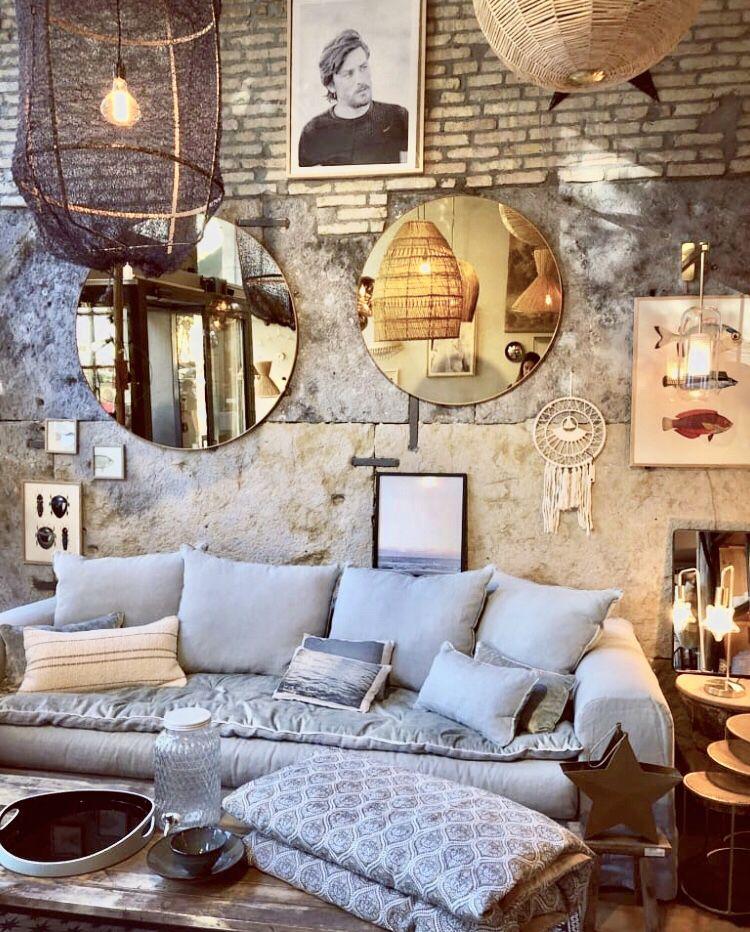 Canape Sur Mesure Evoque En Lin Lave Vert De Gris Et Son Sofa