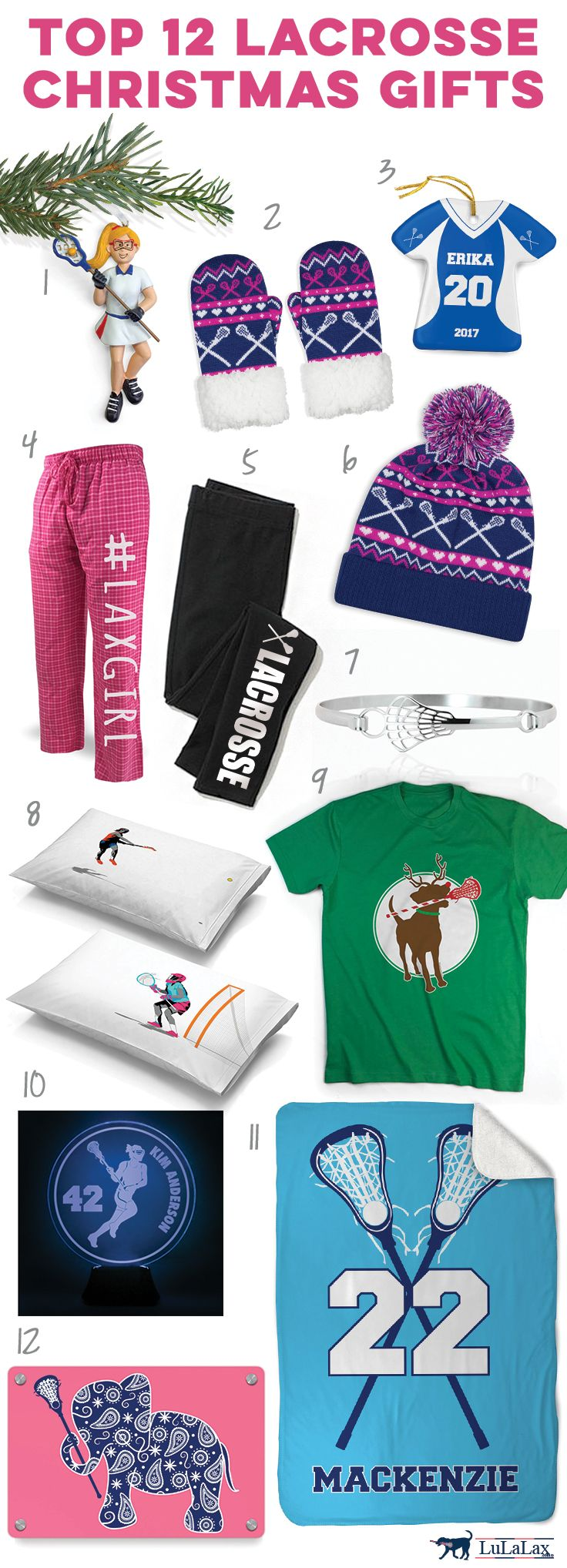 Check out these great holiday lacrosse gift ideas! Click to see more details on our top 12 girls lacrosse player gift ideas. Unique lacrosse Christmas gifts ...