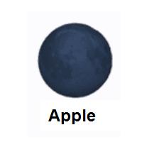 New Moon Emoji In 2020 Moon Emoji New Moon Meaning New Moon