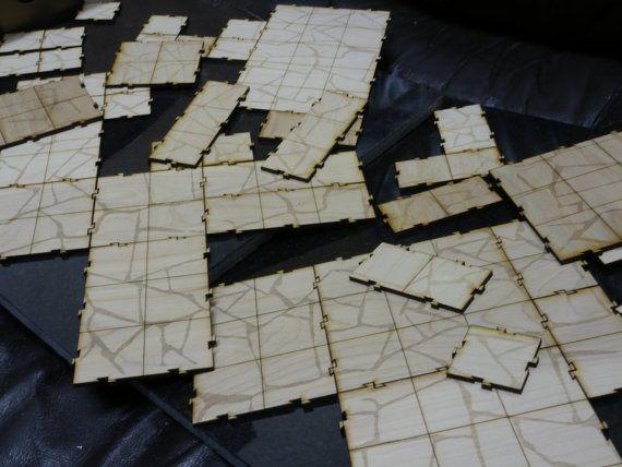 brakenboard tabletop battlegrid tiles for dungeons and dragons or