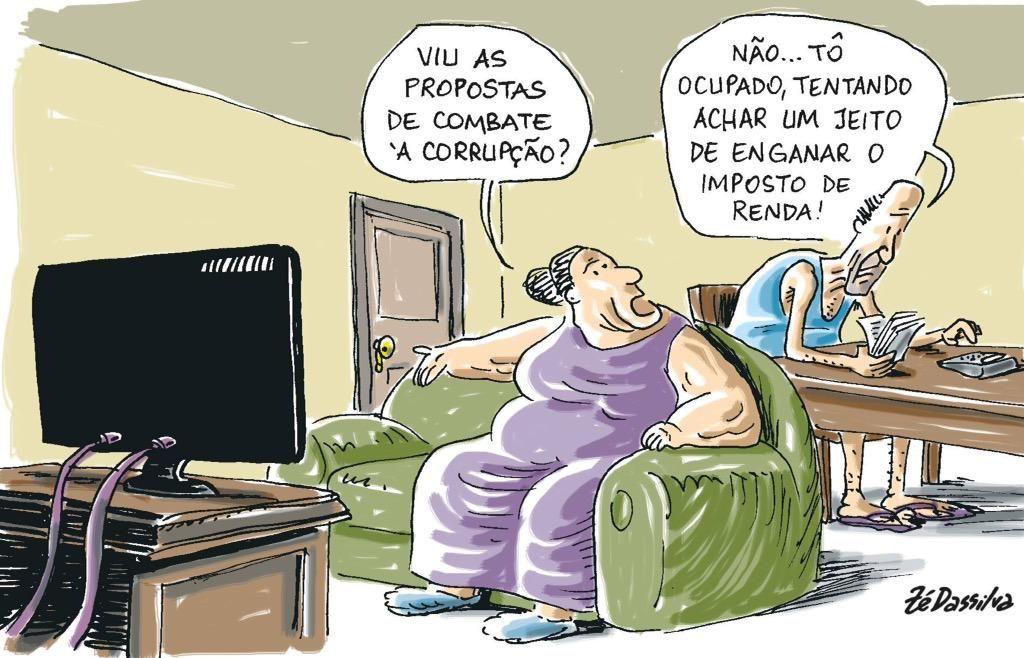 """""""@Rosaniba: Quem sabe apareça o DARF na #ZeloteNaGlobo """""""