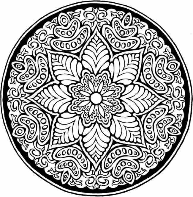 coloring pages - Detailed Sunflower Coloring Pages