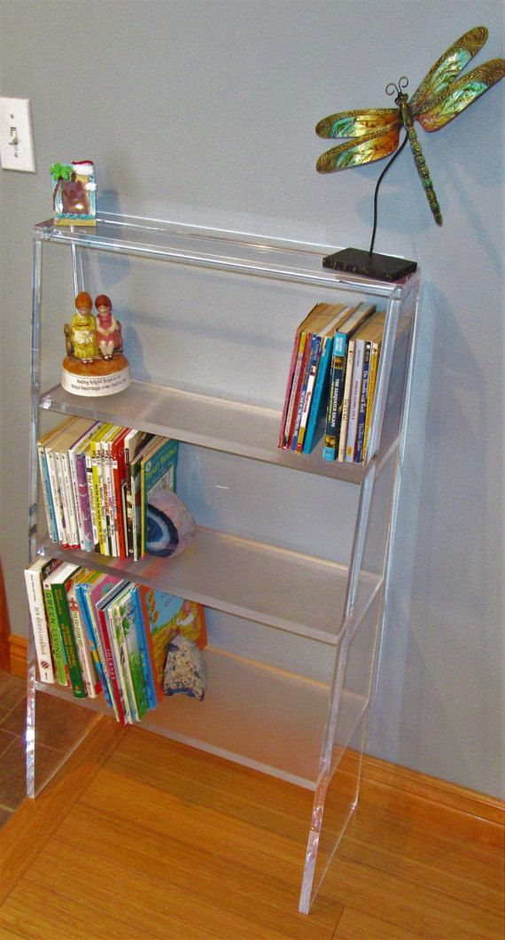New Acrylic Bookcase 3 4 Thick Lucite Acrylic Bookcase