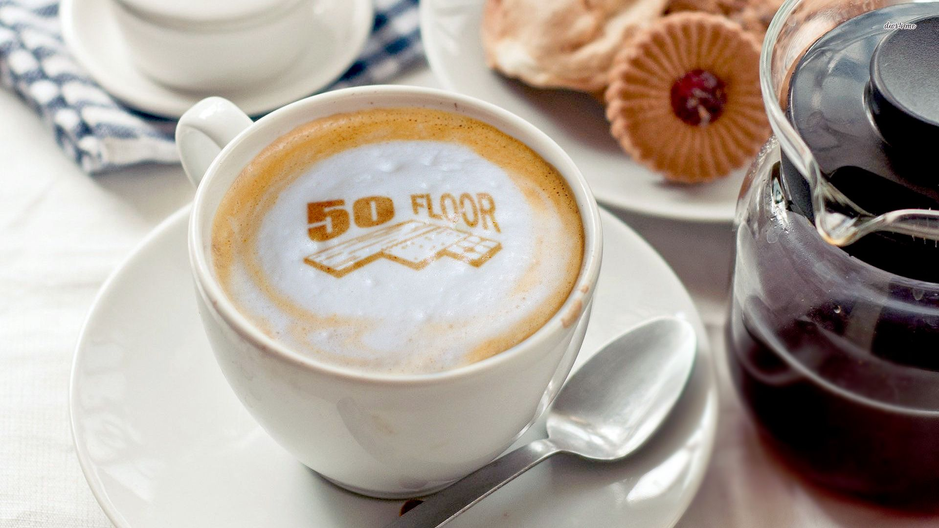 Happy National Coffee Day from your friends at 50 Floor