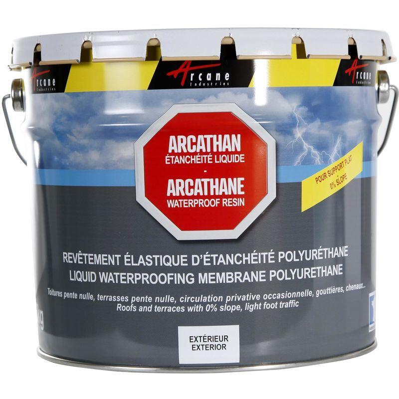 Etancheite Toiture Terrasse Plate Resine Pu Haute Performance Arcathan Arcane Industries Gris 15 Kg 120 25091 Etancheite Toiture Etancheite Toiture Terrasse