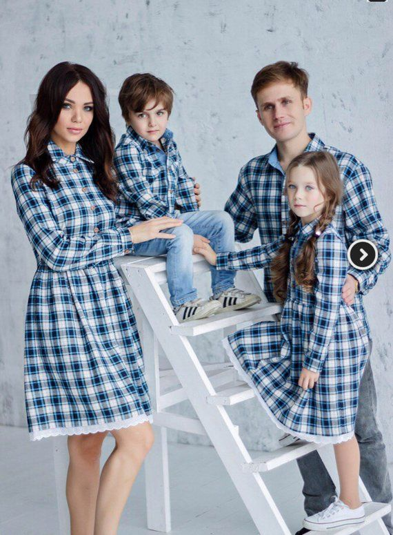 f0bed4fdfe Family Matching Outfit: Mother's Dress matching look women cotton dress  women clothes dress for mom