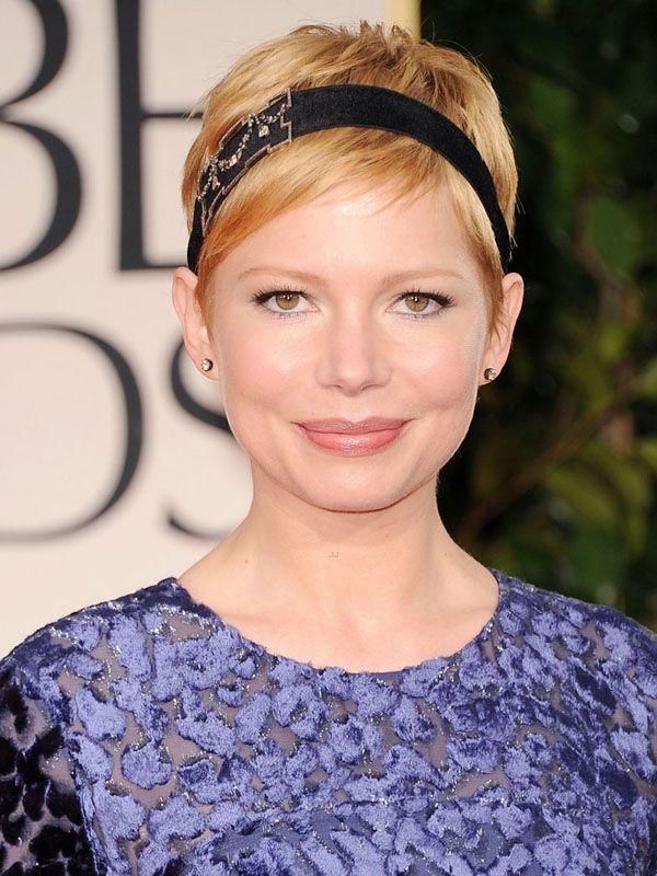 Golden Globes 2012 The Must See Beauty Looks Short Short Hair