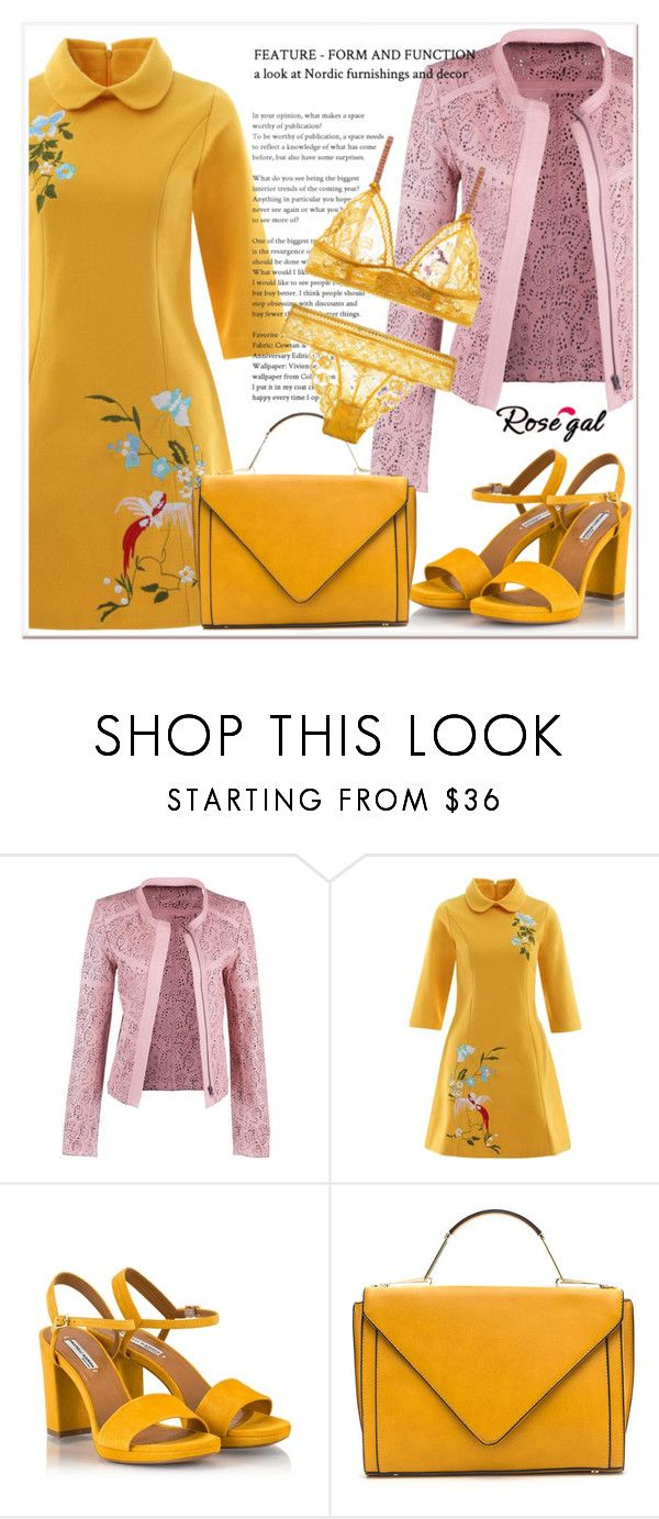 """""""Rosegal 36"""" by nerma10 ❤ liked on Polyvore featuring Fratelli Karida and vintage"""
