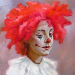 Moussin,Irjan-Female clown.