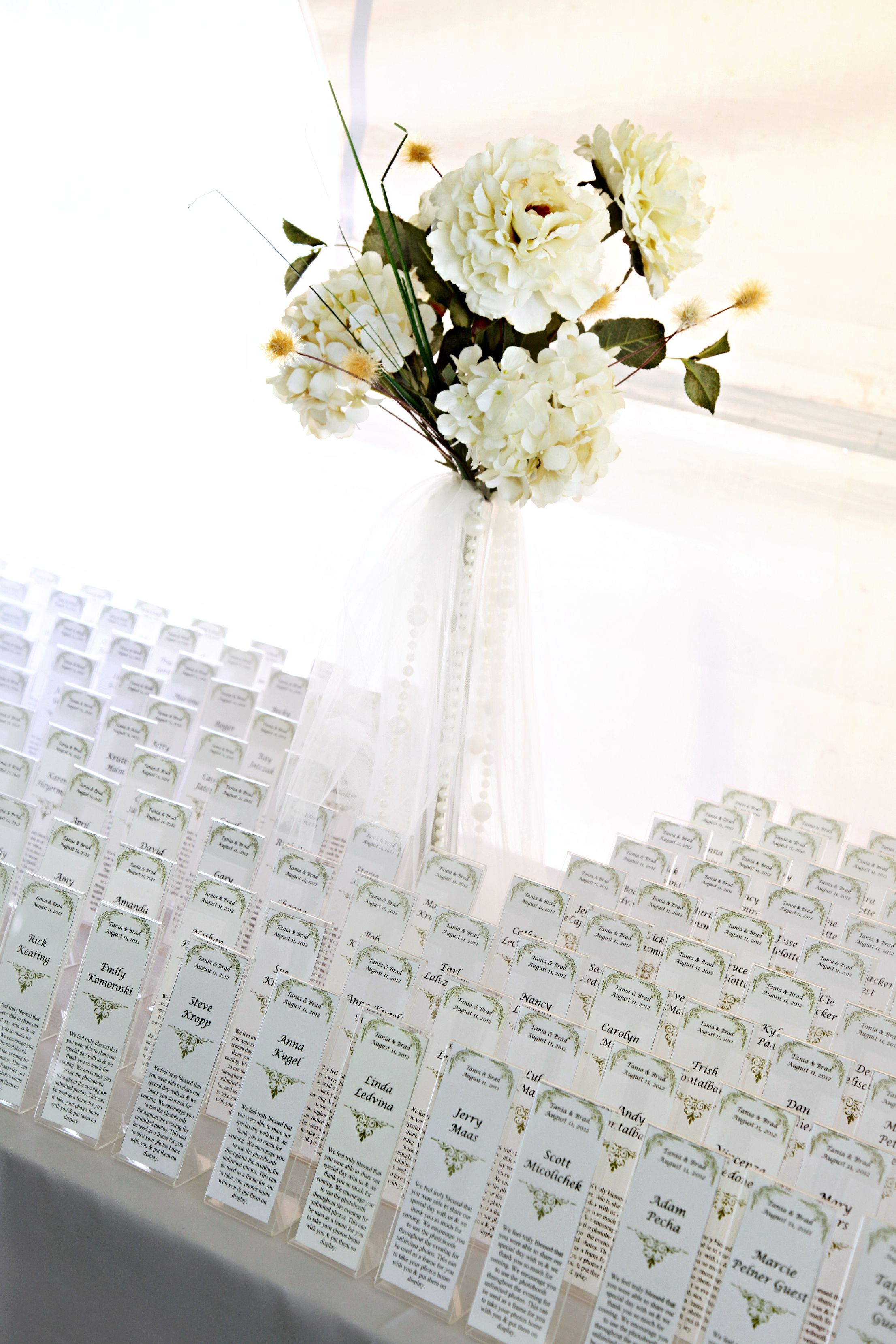 Name Cards-Place Card holders, photo booth picture frames. Perfect ...
