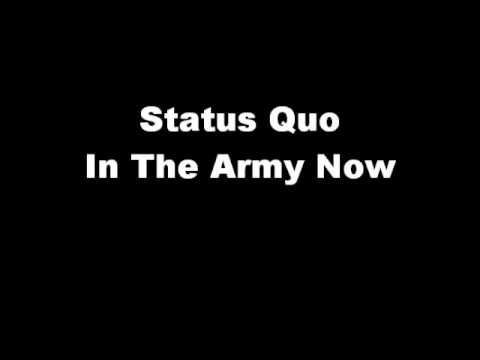 Status Quo - In The Army Now - YouTube