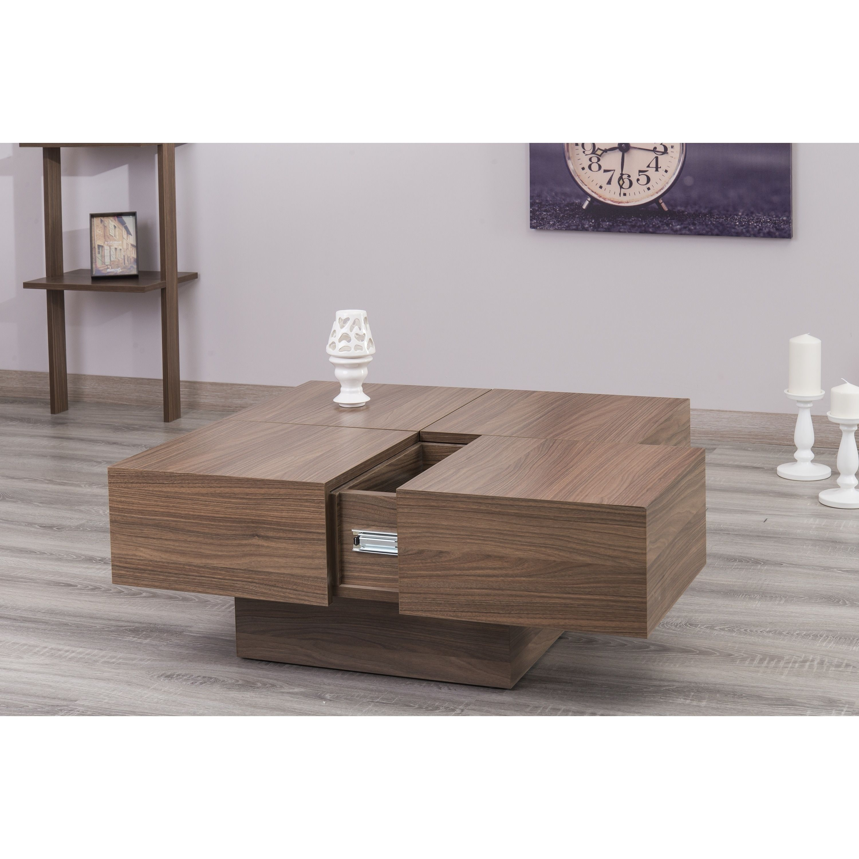 Couchtisch Milano Milano Walnut Coffee Table Brown Products