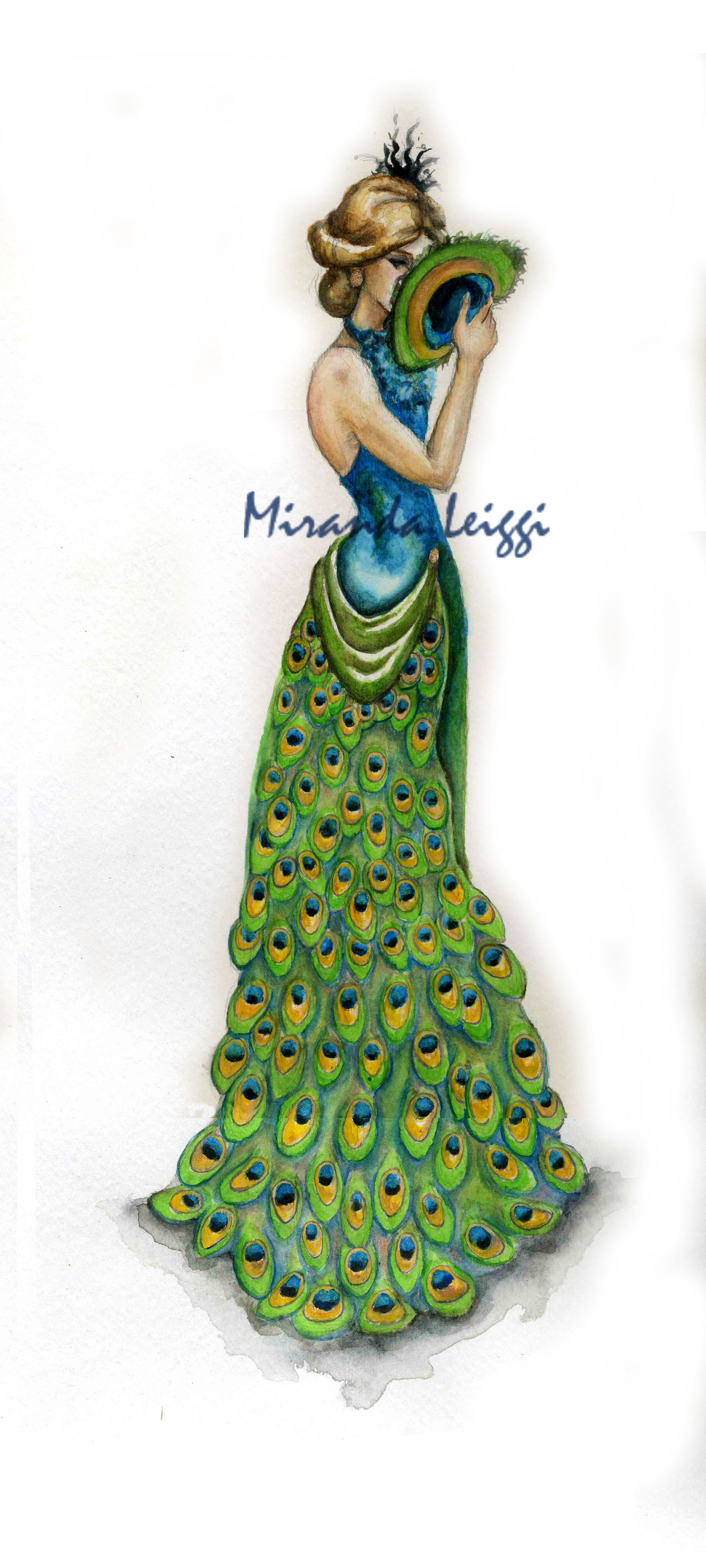 Fashion Design Sketches Evening Gowns | Miranda Leiggi ...