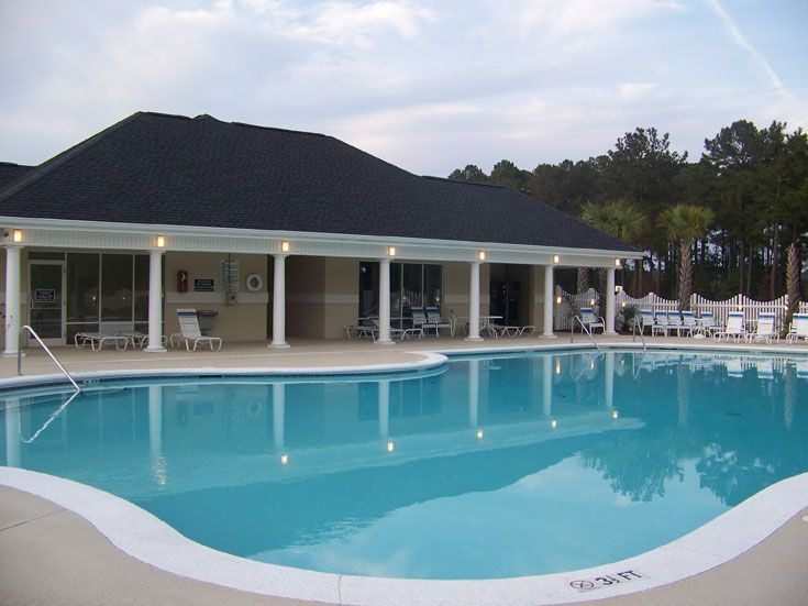 The Pool House At Brunswick Plantation One Of Many Amenities This North Myrtle