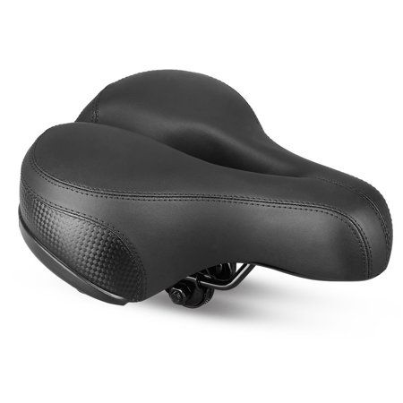 Wide Bike Saddle Cycling Cushion Seat Waterproof Breathable Soft Bicycle Pad