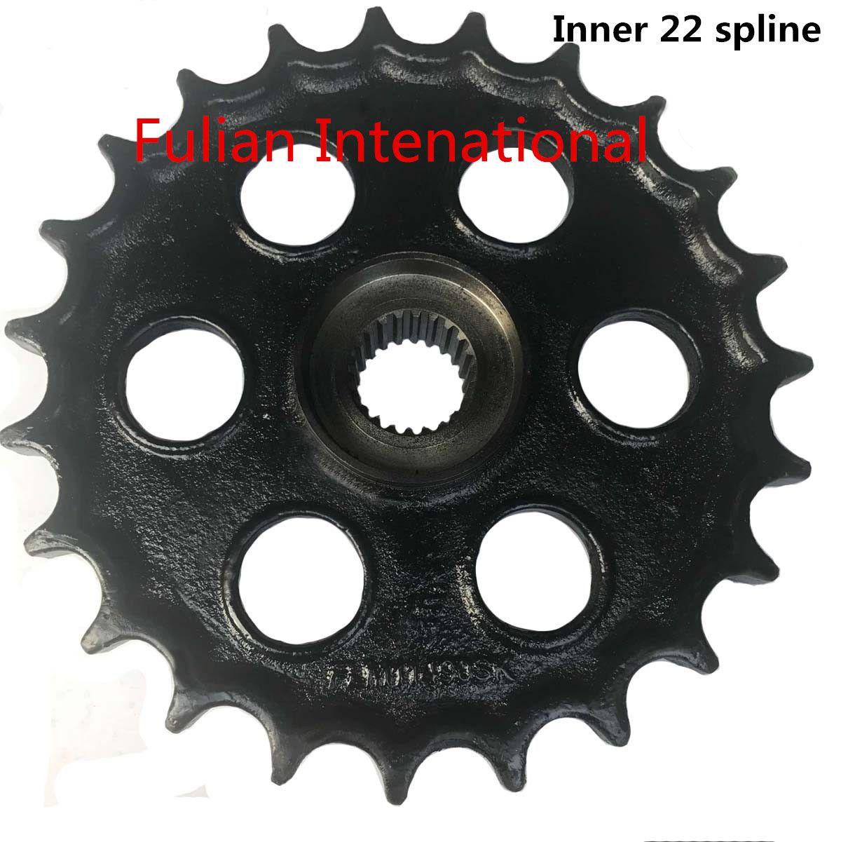 Mini Excavator Sprocket 68571-14432 for Kubota KH30,KH90,KH120 Inner Spline 22