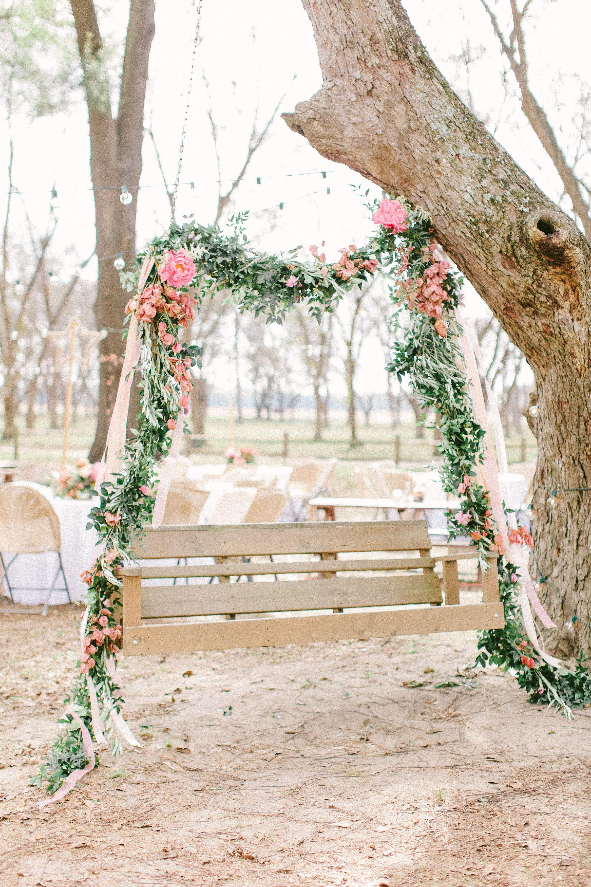 Romantic Savannah Barn Wedding Wedding Decorations Wedding