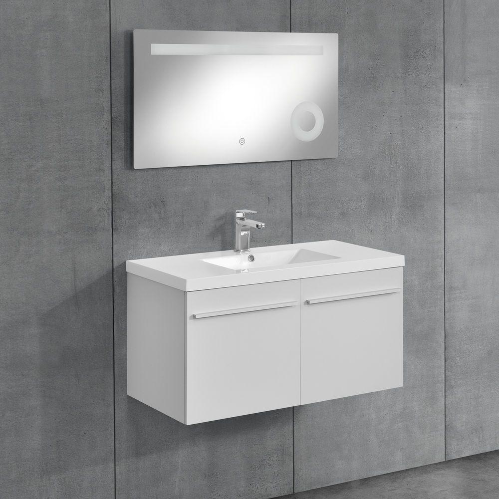 [neu.haus]® Badezimmerschrank Unterschrank Waschtisch