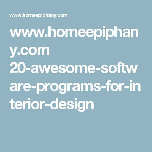 Interior Design Software: 21 Free And Paid Interior Design Software Programs