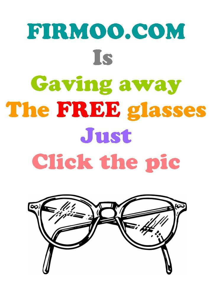 20bd054927 Firmoo is giving aways free glasses.