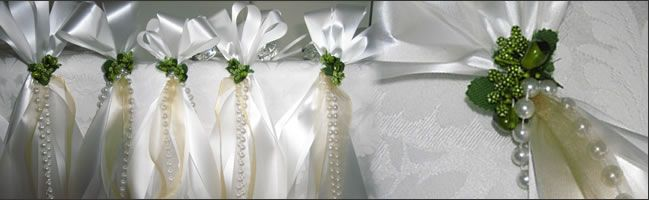Pew Bows And Church Decorations For Weddings