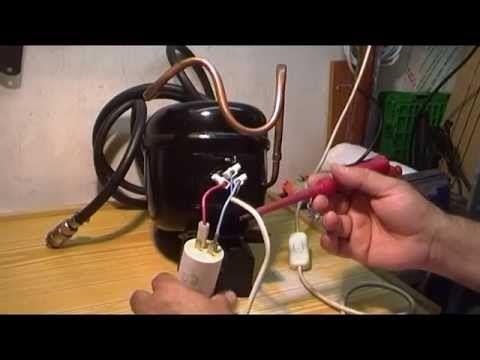 Como Arrancar Un Compresor De Frigo Con Un Condensador Youtube Refrigeracion Y Aire Acondicionado Compresor Compresor De Aire