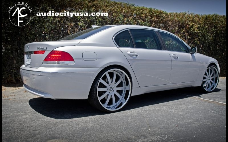 LI Staggered Bmw Ac Forged Staggered On Bmw - 2009 bmw 745
