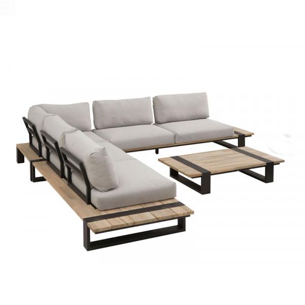 4 Seasons Outdoor Duke Small Modular Lounge Set Outdoor Lounge Sets Garden Furniture Outdoor In 2020 Modern Lounge Lounge Furniture Furniture Design