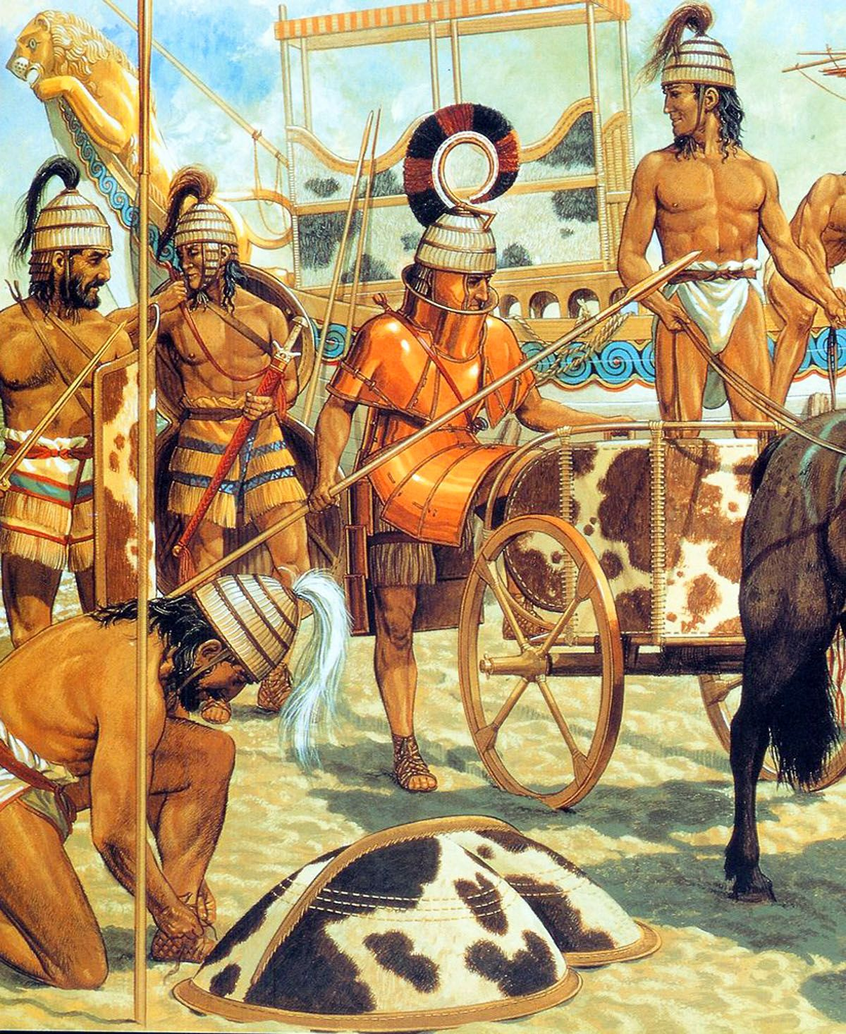 A history of the roman empire based on the trojan legend