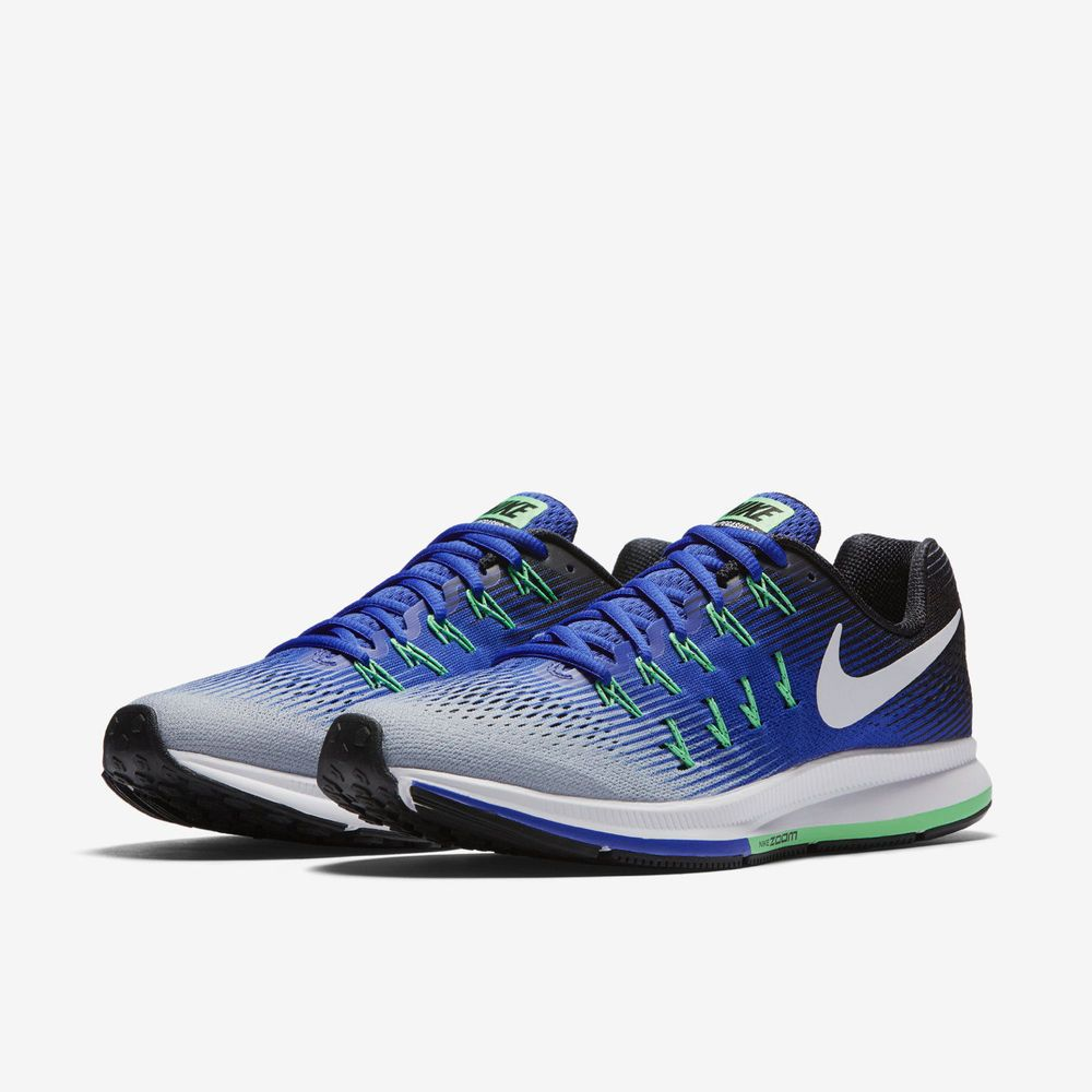 352fcd95766e Nike Air Zoom Pegasus 33 Mens Running Shoes 11.5 Wolf Grey White Blue  831352 008  Nike  RunningShoes