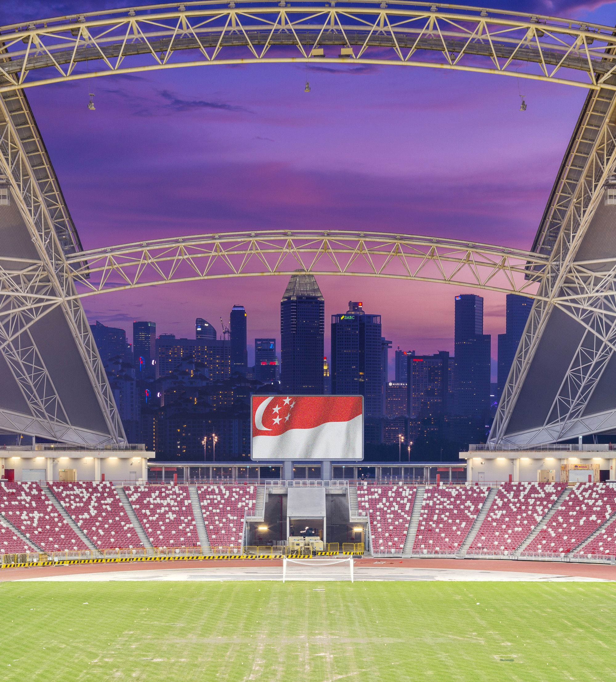 Gallery of Singapore SportsHub DPArchitects 1