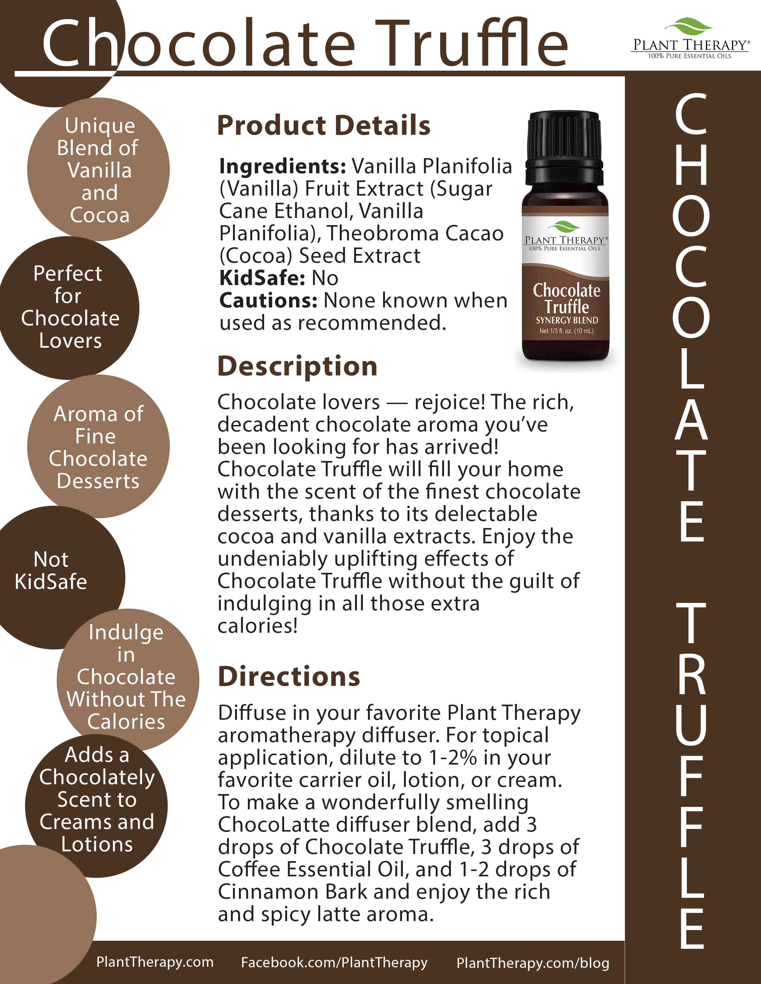 December Oil of the Month: Chocolate Truffle | Essential