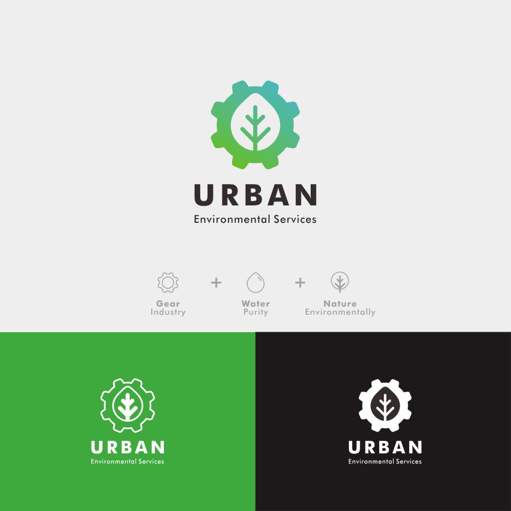 Design 22 By Tim Evan Logo Design For Urban Environmental Services Environmental Logo Design Eco Logo Design Logo Design