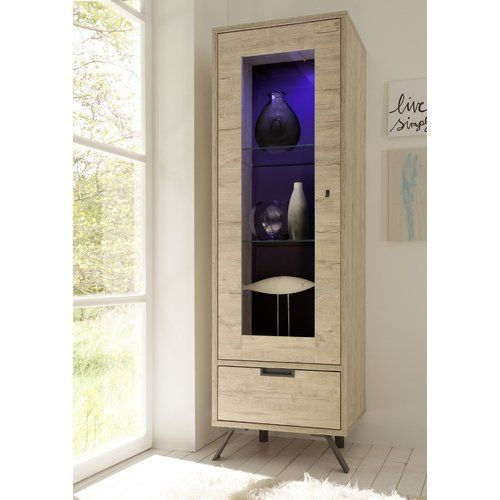 Monaco 1 Door Curio Right Side Alf Da Fre Curio Tall Cabinet Storage Cabinet Styles