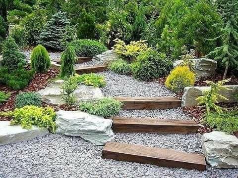Pin by Khusan Umarov on 4 Design N Garden Pinterest Gardens - steingarten anlegen mit vlies