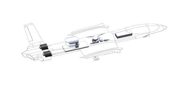 Challenger Aerospace hybrid BH 77 UAV/UAS Modern Aircraft Pinterest