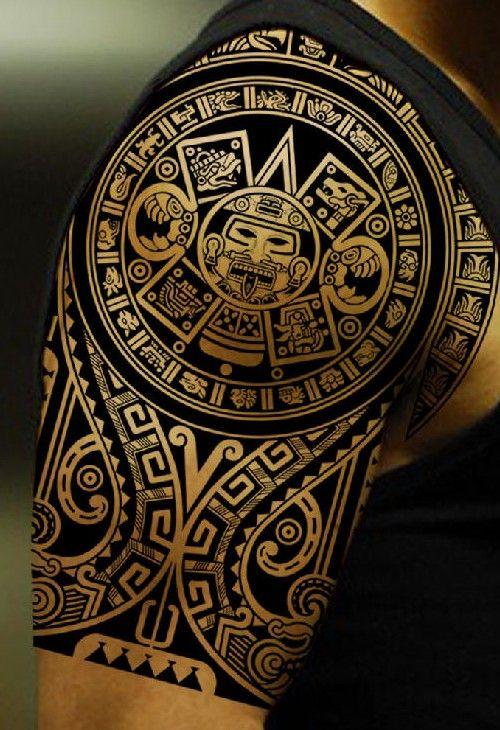 Aztec Tattoo Tattoo Tatuajes Tribales Aztecas Tatuaje Maori Y