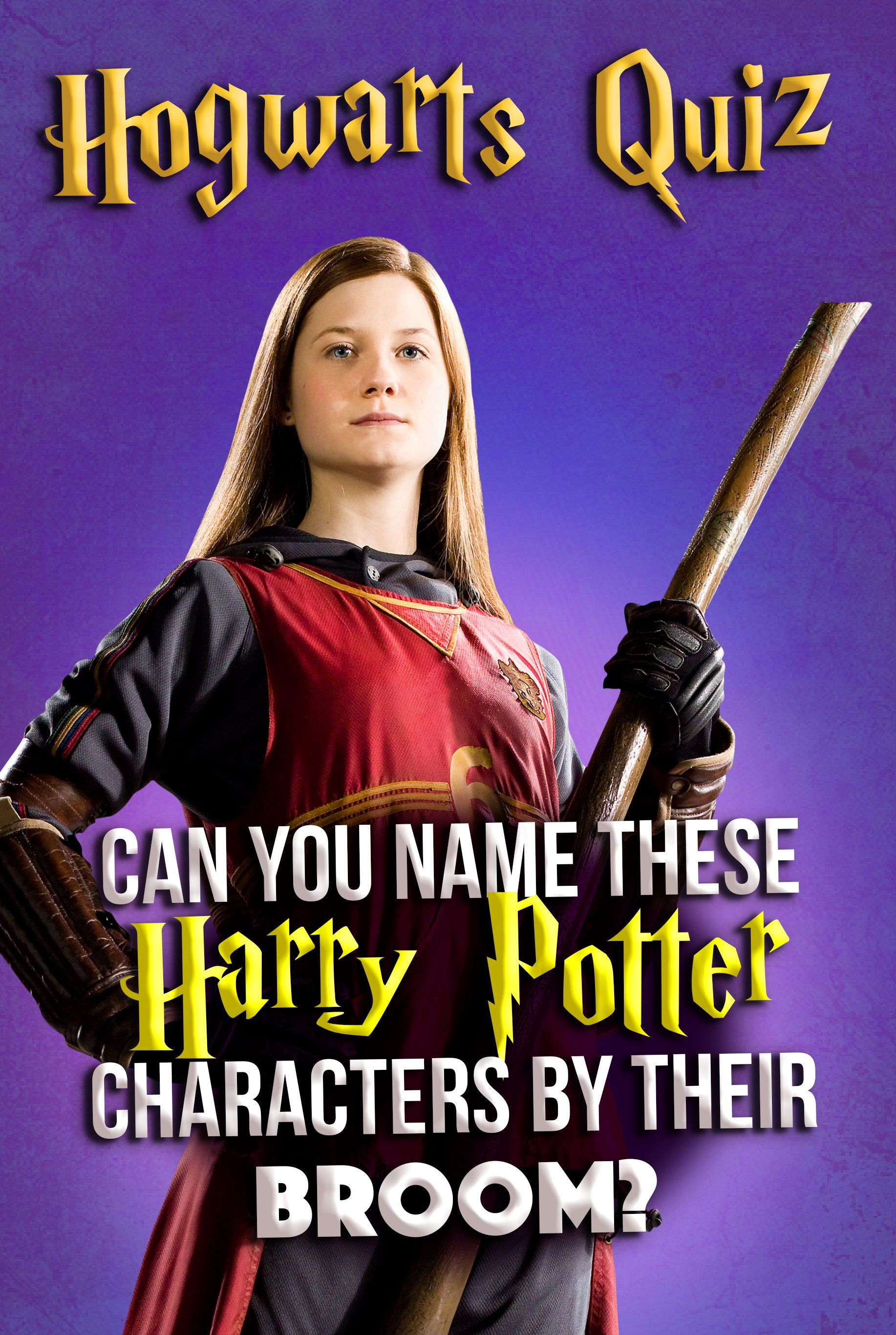 Hogwarts Quiz Can You Name These Harry Potter Characters By Their Broom