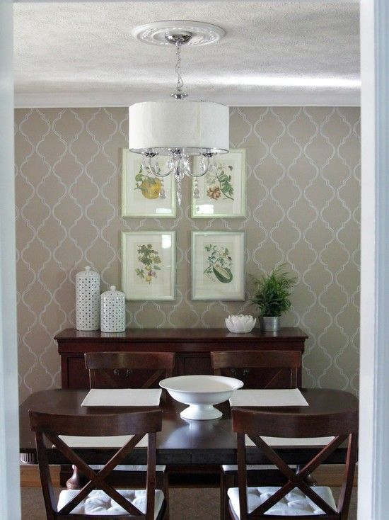 Wallpaper Dining Room Ideas Images About Diningpiano Pinterest Furniture With