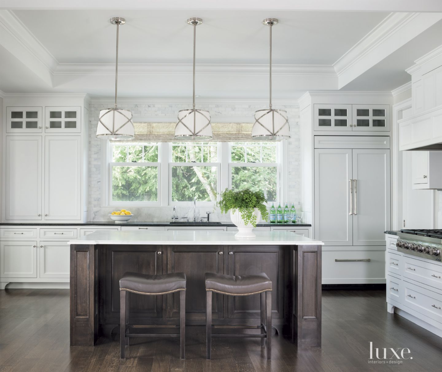 Rice worked with traditional New England architectural elements ...