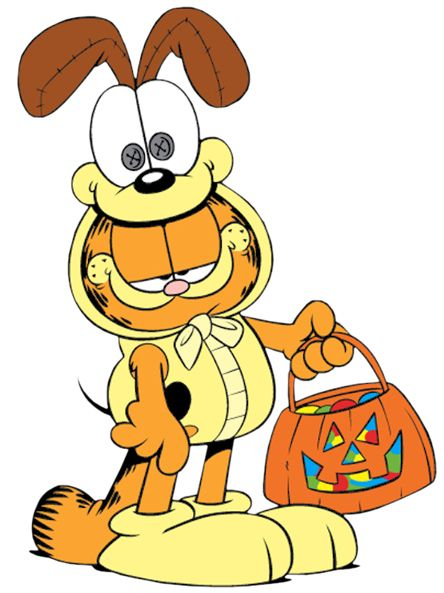 Disney Halloween Clip Art Garfield Halloween Garfield Cartoon Garfield And Odie