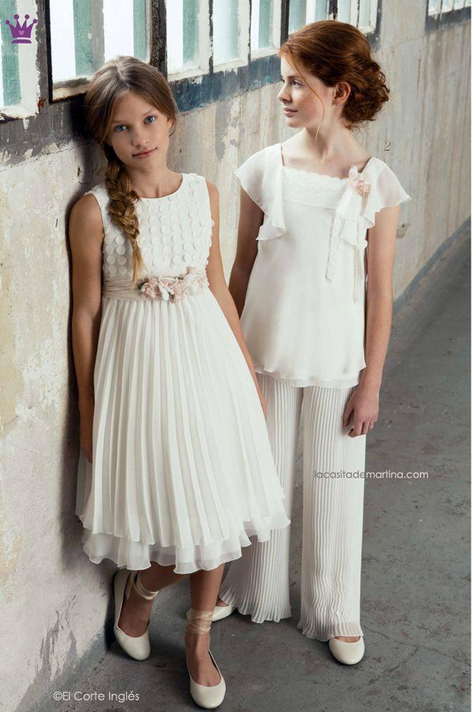 trajes de comunin de el corte ingls blog de moda infantil