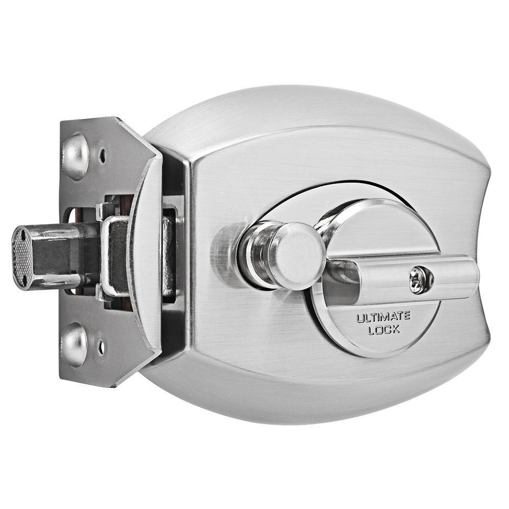 Satin Nickel Door Locking Ultimate Lock System Deadbolt Lock
