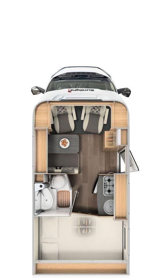 Photo of Sublime 15+ Camper Van layout design camperlife.co/… If your van is large enou…
