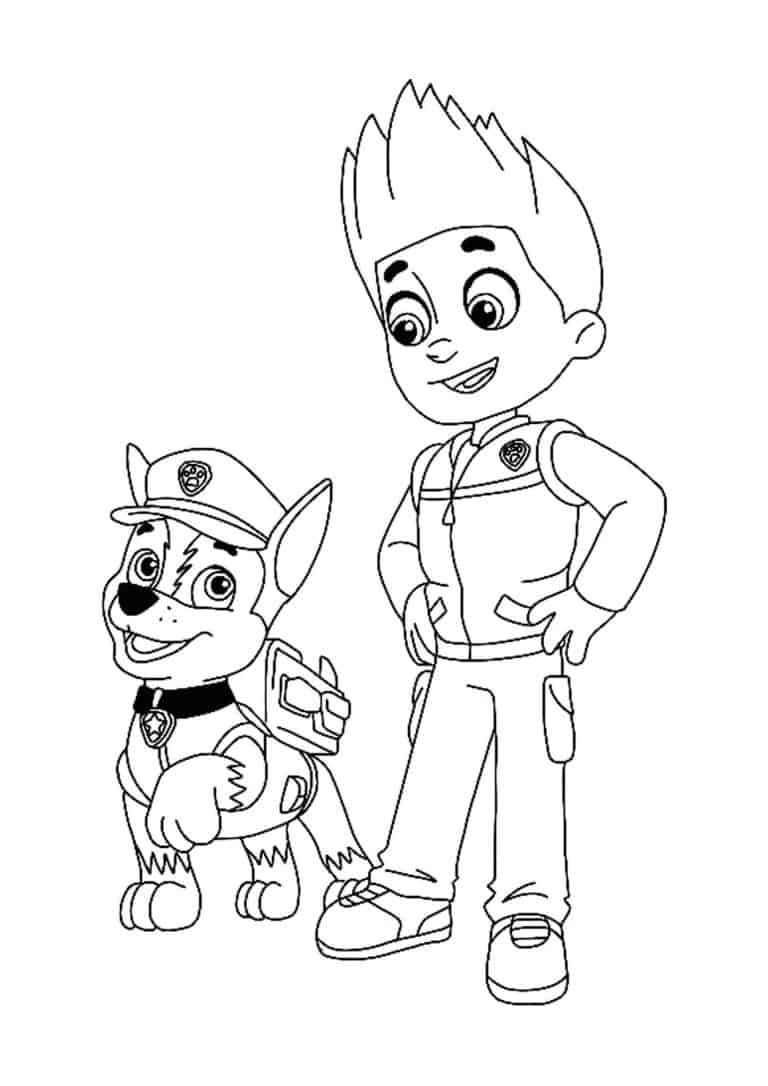 Paw Patrol Ryder Coloring Pages 6 Free Printable Coloring Sheets 2020 Ryder Paw Patrol Paw Patrol Coloring Unicorn Coloring Pages