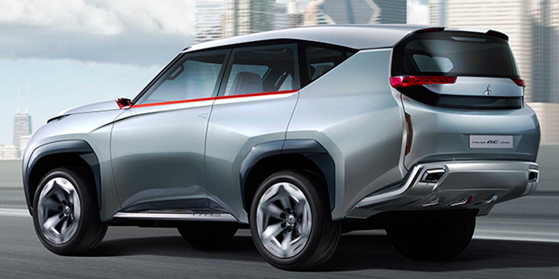 Mitsubishi Concept GCPHEV CAS15 Mitsubishi pajero