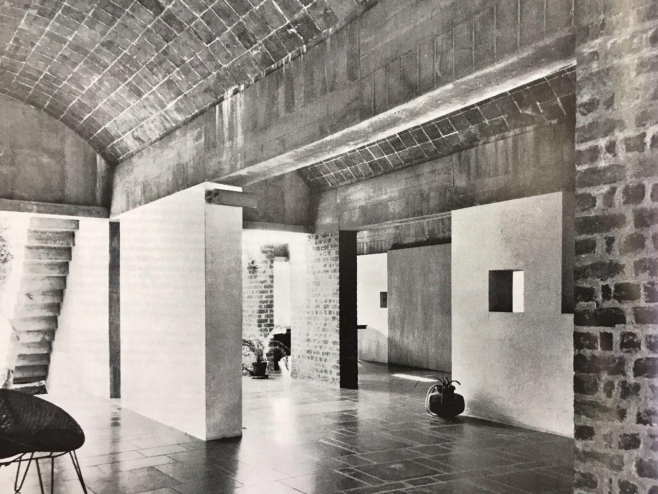 Le Corbusier S Villa Sarabhai Ahmedabad 1955 Via Here Le